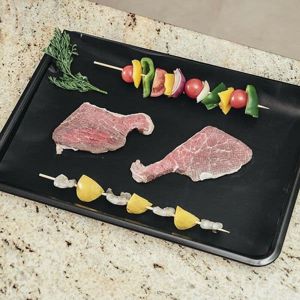 REUSABLE NON STICK LINER IDEAL FOR OVENS GRILL PANS OVEN TRAYS BBQ ROASTING